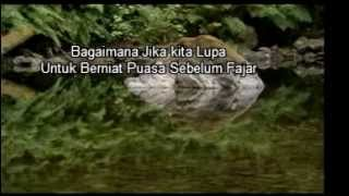 Niat Puasa Ramadhan 2017 Video
