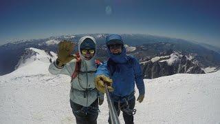 Climbing Mont Blanc in 4K! (Gouter Ridge Route)