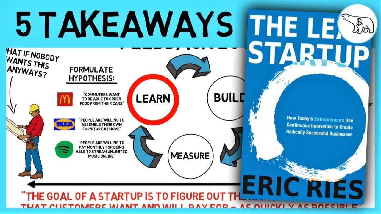 """Learn about """"the Lean Start-up"""" by Eric Ries"""