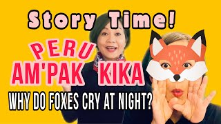 WHY DO FOXES CRY AT NIGHT? PERU ni GOLPO!   Story time in Garo with English Translation.