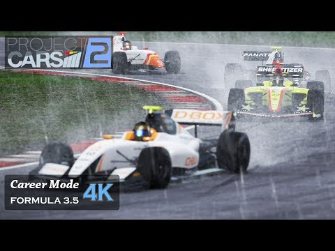 Project Cars 2 [4K] [Formula Renault 3.5] Career #6 - Onboard [Silverstone - Red Bull Ring - Monza]