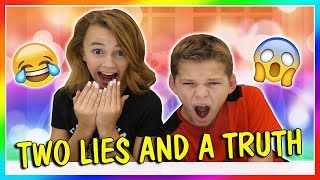 TWO LIES AND A TRUTH😂 | We Are The Davises