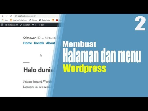 tutorial-wordpress-part-2-|-cara-membuat-halaman-dan-menu-di-wordpress