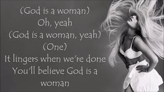 Ariana Grande ~ God is a woman ~ Lyrics