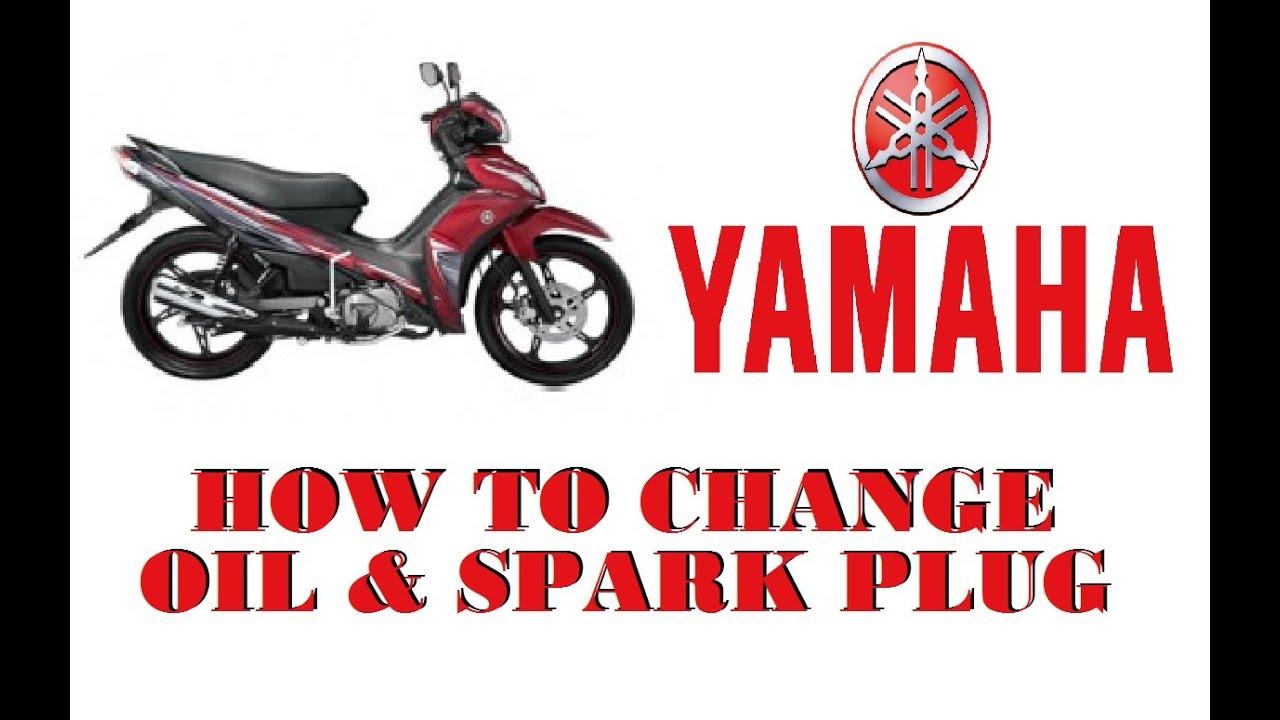 How To Change Oil Spark Plug On A Yamaha Jupiter Z1