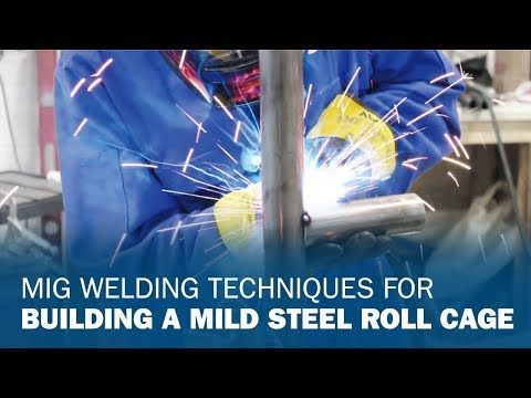 MIG Welding Mild Steel Roll Cages: 30-, 45- and 90-degree angles