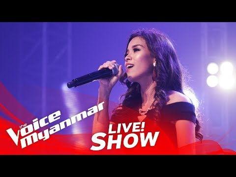 "Ce Ce: ""Hero"" - Live Show - The Voice Myanmar 2018"