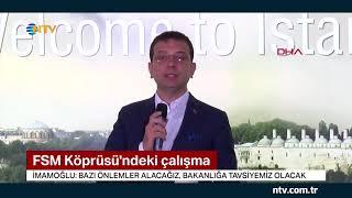 """Ekrem İmamoğlu: """"Trafiği acil olarak gündeme aldık"""""""