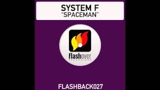 System F - Spaceman (Radio Edit - Instrumental)