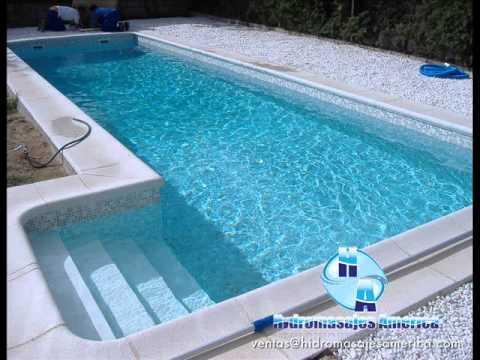 Fabricacion de piscinas en hydromasjes america youtube for Fabricacion de piscinas