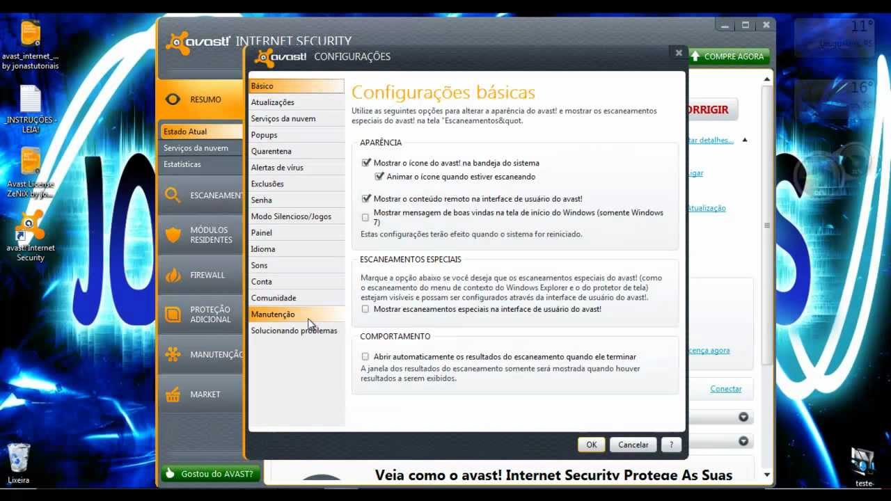 BAIXAR AVAST 7.0.1474 DO FREE SERIAL ANTIVIRUS