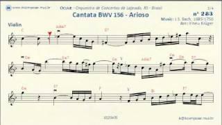 283 - Cantata BWV 156 J.S.Bach - (Violin)
