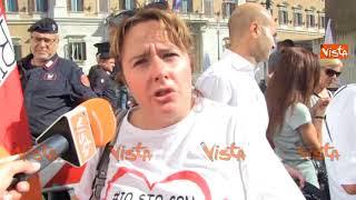 Milleproroghe, maestre da tutta Italia in piazza Montecitorio: ''Vogliamo essere stabilizzate''