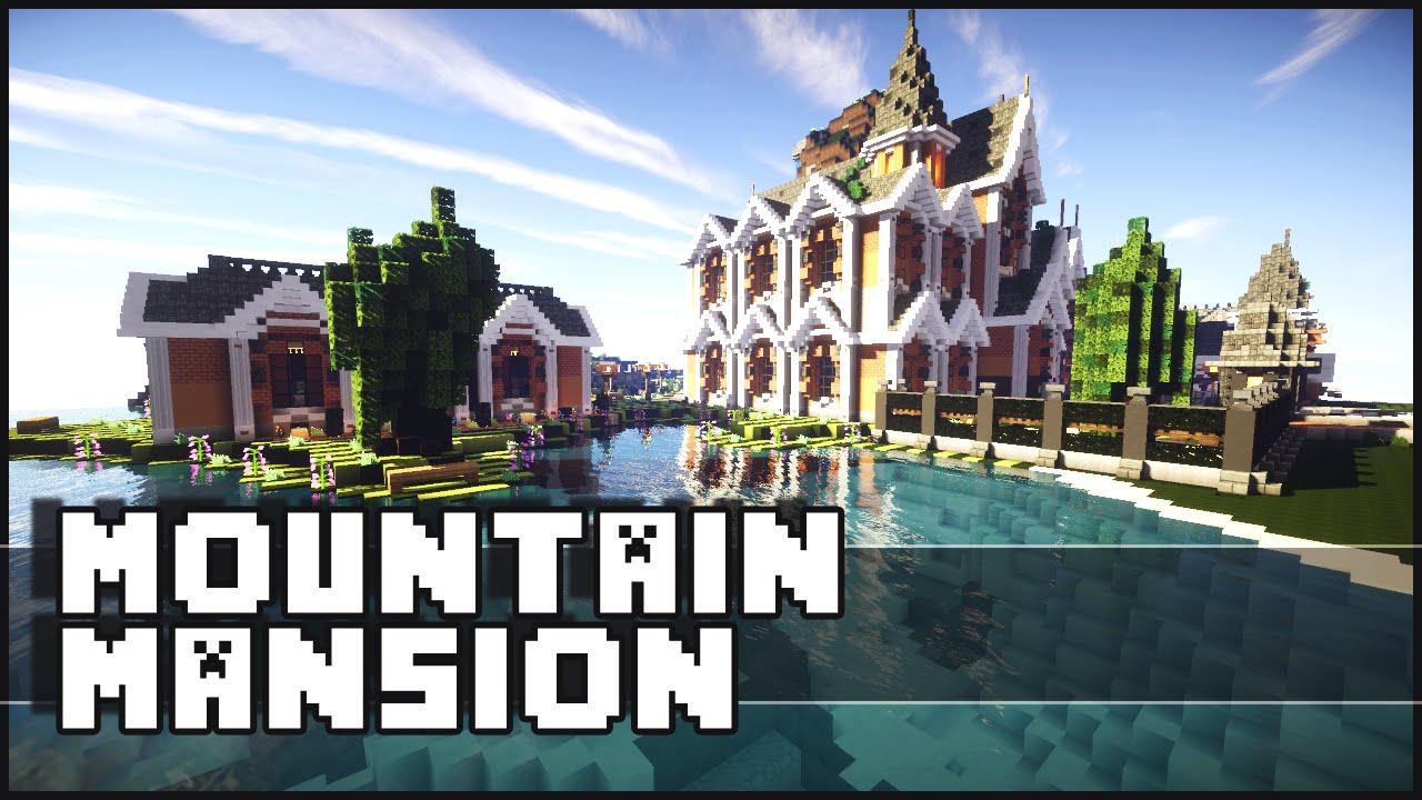 Minecraft - Mountain Mansion