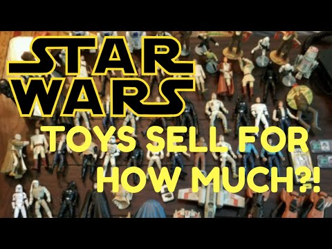 Selling Star Wars Toys on eBay via Auction! How Much did They Go For?
