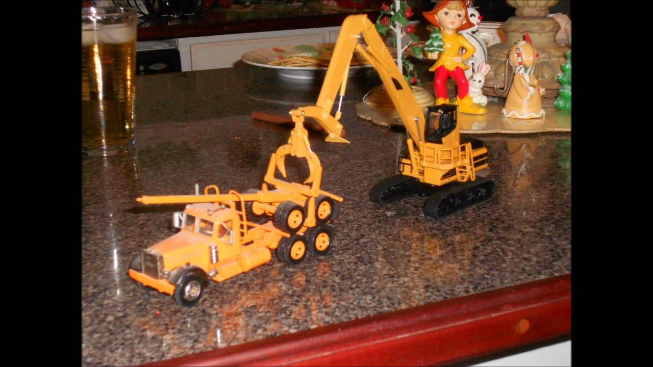 """Track Loader For Sale >> 1:64 Caterpillar heel boom log loader log shovel """"juicer ..."""