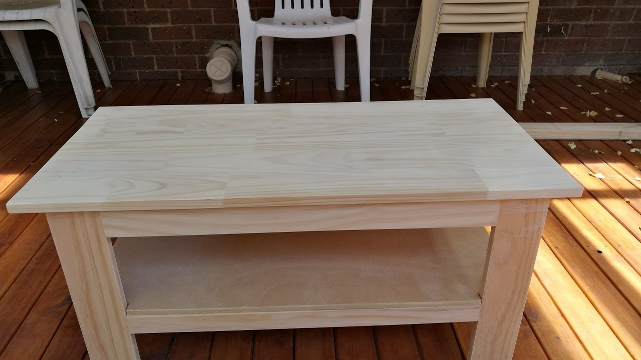 Woodworking Making A Coffee Table