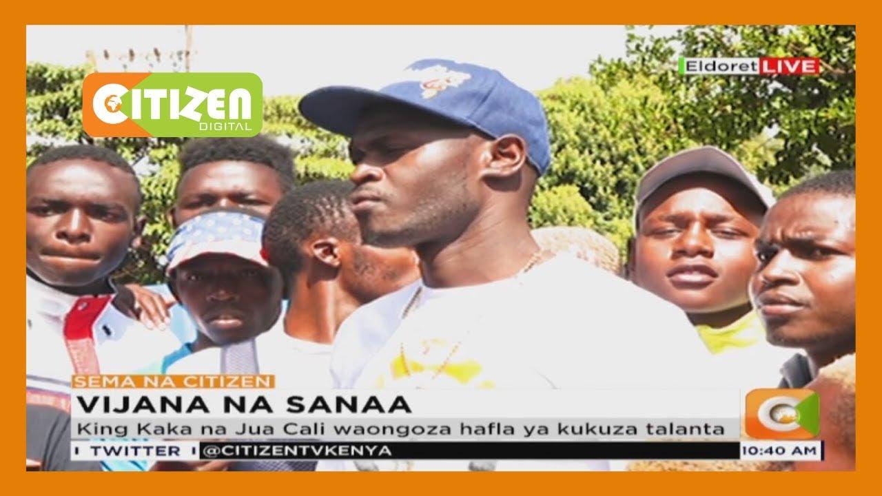 King Kaka na Jua Cali waongoza hafla ya kukuza talanta huko Eldoret