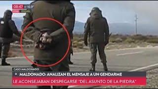Maldonado analizan el mensaje a un gendarme