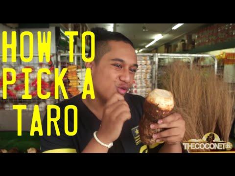 How To: Pick a Taro