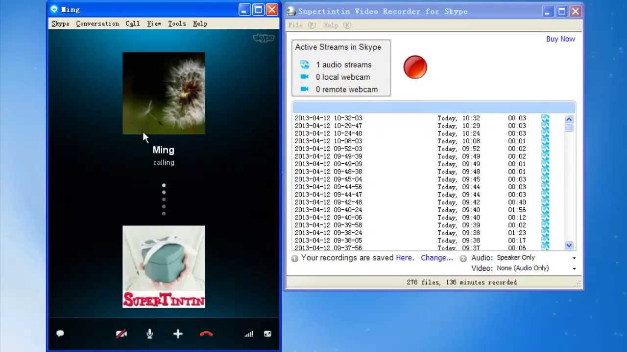 How to record only one side of your Skype calls