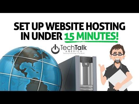 Set Up Website Hosting in Under 15 Minutes!