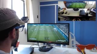 TESTANDO O PS4 NO MONITOR: LCD Philips 29