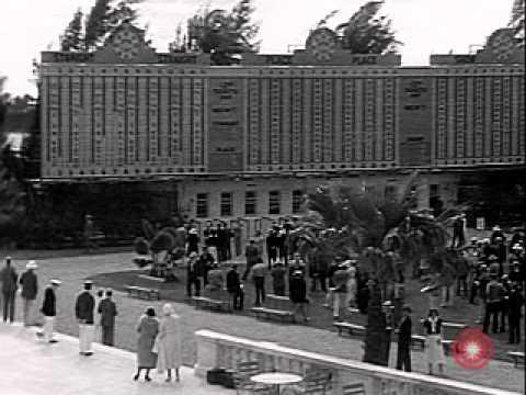 Opening day at Hialeah Park, 1932