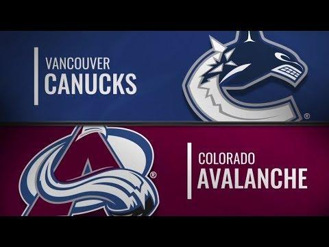 Canucks vs Avalanche   Feb 2,  2019