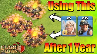 Wow😮Using This Insane Army After 1 Year - Miner Is Still OP?