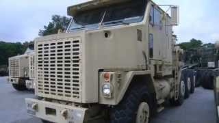1994 Oshkosh M1070 Heavy Equipment Transporter on GovLiquidation.com