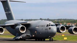 NASA Visits Prestwick Airport WB-57F & C17