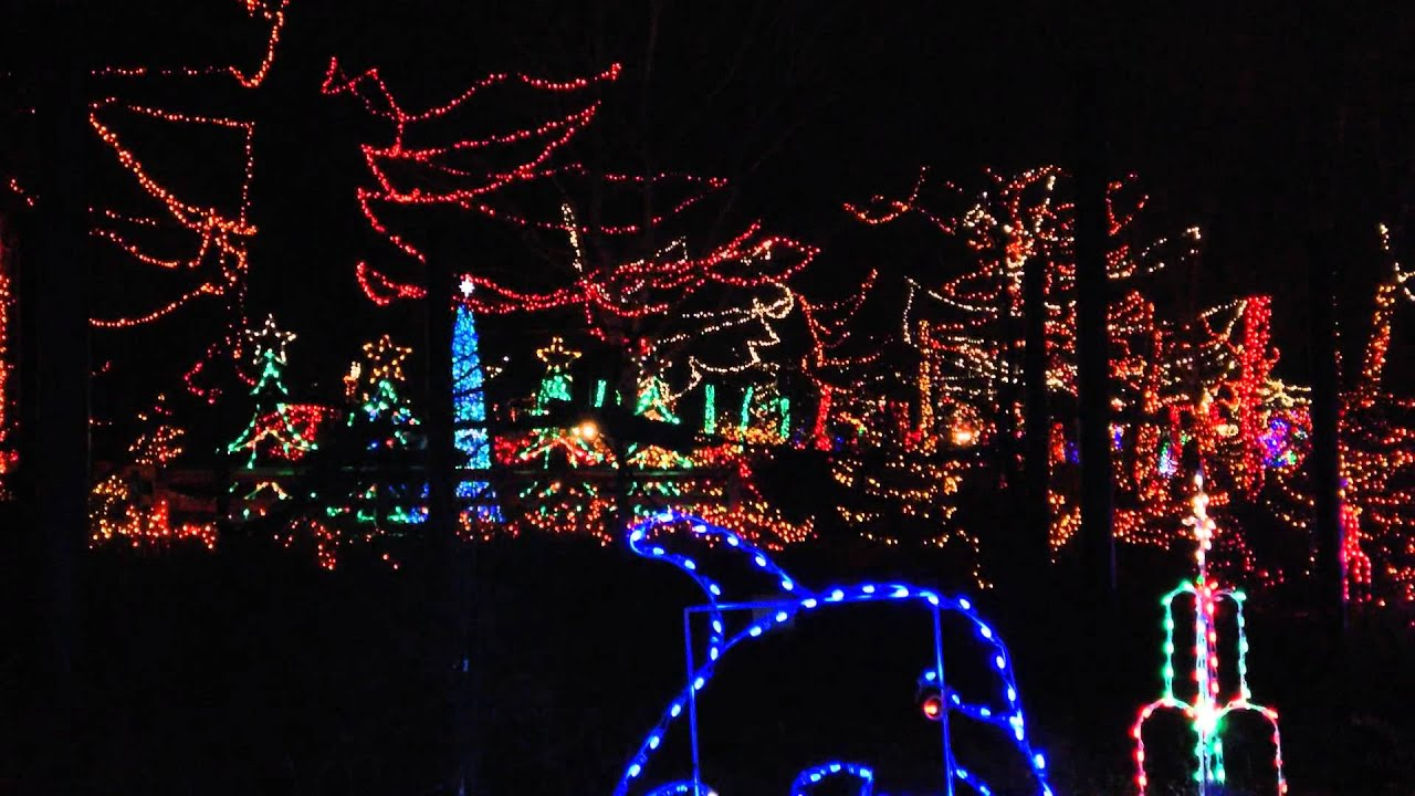 Christmas at the Zoo, Indianapolis Zoo 2014 - YouTube