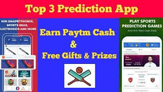 Top 3 Cricket Predictions Apps  for Android 2018 | No PAN/BANK Required |