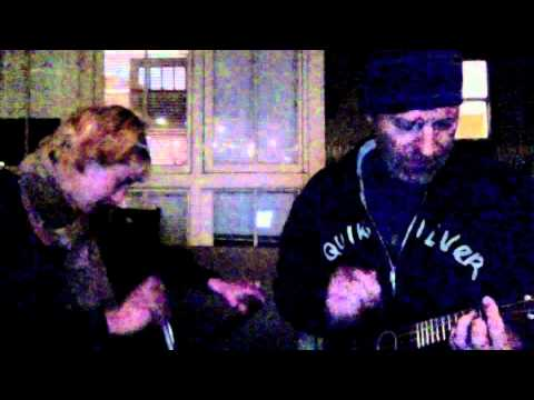 Chocolate Jesus Cover on Ukulele, Musical Saw and Echo Toy Microphone