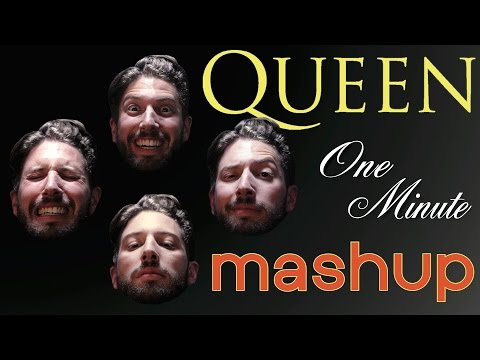 20 Queen Songs in a Minute - One Minute Mashup #31