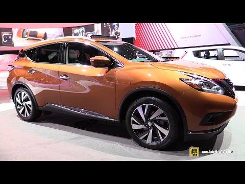2015 Nissan Murano Platinum AWD - Exterior And Interior Walkaround - 2015 New York Auto Show