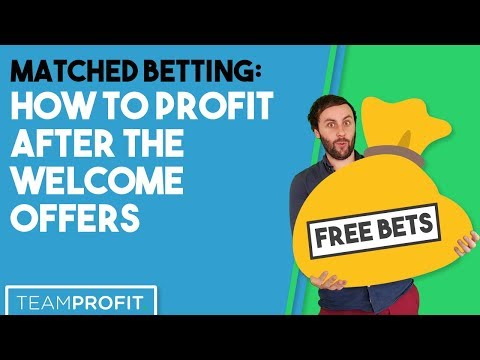 How To Profit After The Welcome Offers