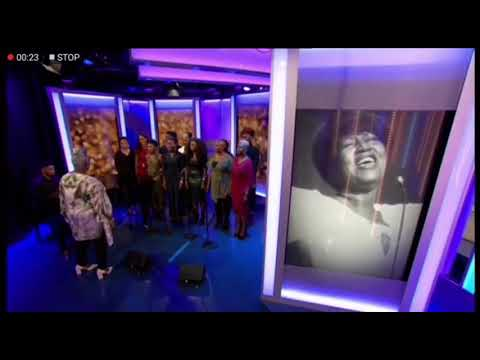 BBC The One Show- Aretha Franklin Tribute