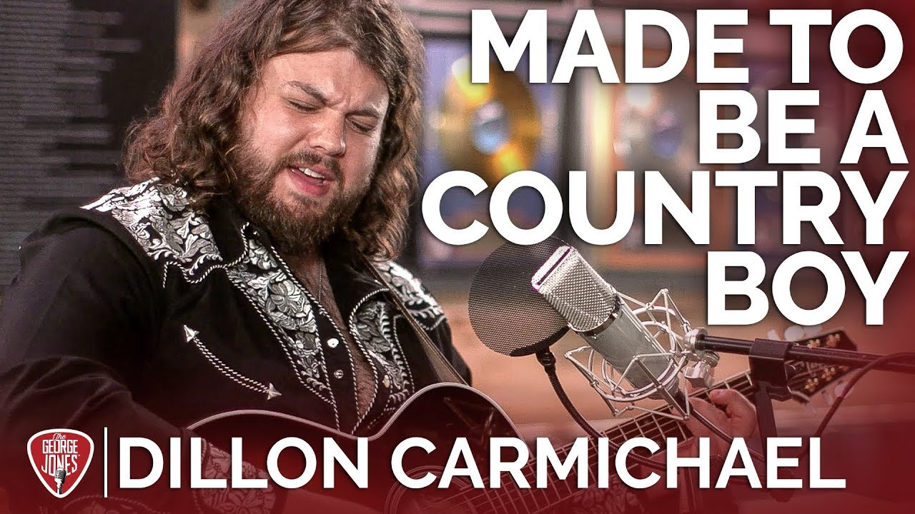 Dillon Carmichael — Made To Be A Country Boy (Acoustic) // The George Jones Sessions