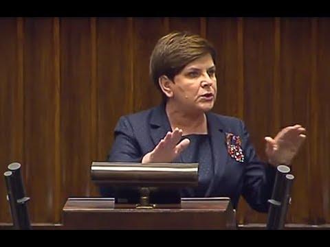 Premier nie wytrzymała na zarzuty opozycji i mocno odpowiedziała