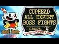 CUPHEAD: ALL EXPERT BOSSES S-RANK [ 31:55, PERFECT RUN, NO DAMAGE ]