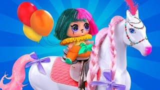 10 идей для старых кукол Барби и ЛОЛ