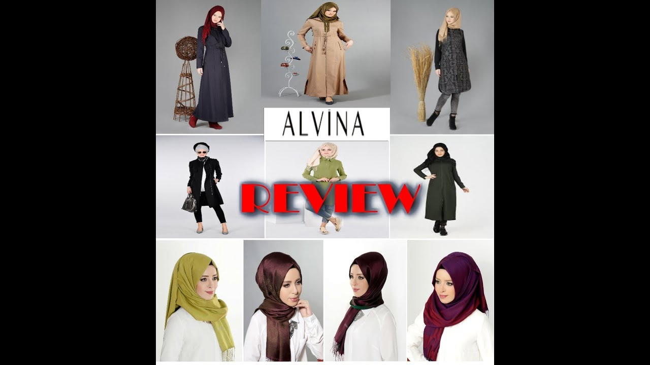 2c54e0bbd8df3 ALVINA REVIEW  ملابس محجبات  مشترياتي من موقع Alvina التركي -HEBA S MIND