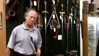 Antiques Mall, Antique Swords, Civil War Sword