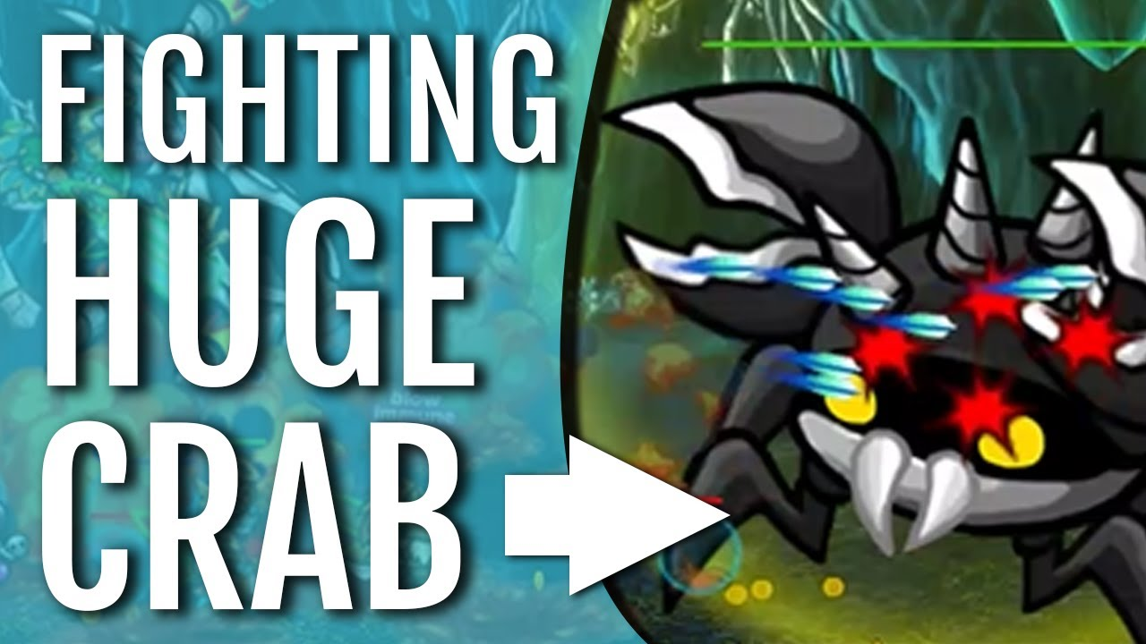 fighting huge crab endless frontier awesome idle game beginners guide gameplay youtube. Black Bedroom Furniture Sets. Home Design Ideas