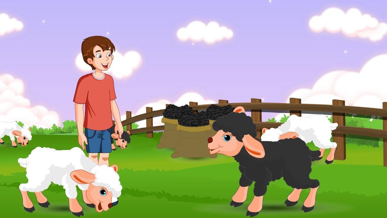 Baa Baa Black Sheep Nursery Rhymes Youtube