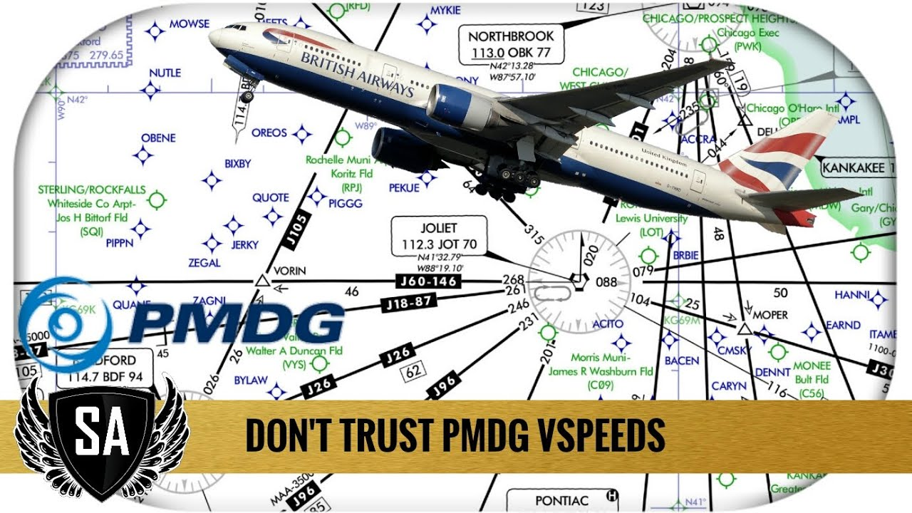 PMDG Takeoff Speeds   DONT Trust the V speeds