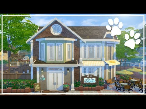 DOGGIE DINER (w/ Hatsy) // The Sims 4: Speed Build