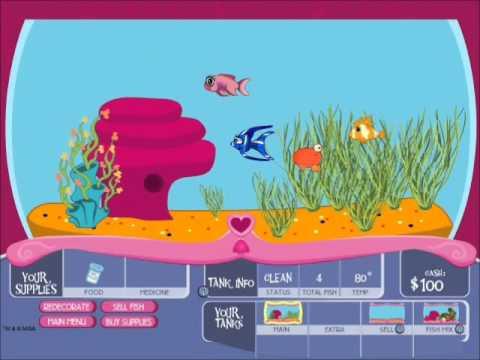 Bratz Fish Tank Game - Bratz Games- Bratz Games Online